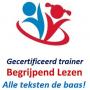 Logo gecertificeerd trainer alle teksten de baas
